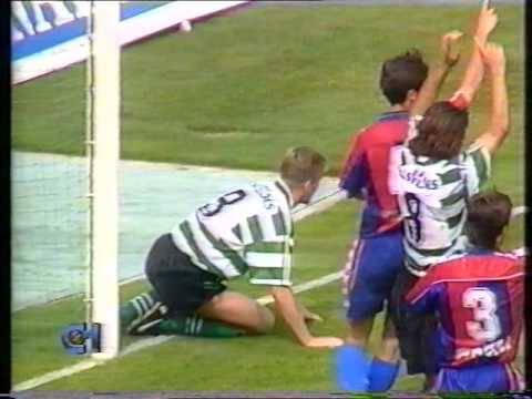 33J :: Sporting - 1 x Chaves - 0 de 1994/1995