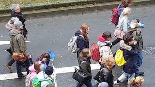 #Демонстрация школьников-подростков в #Германии, в Защиту #Природы и #Экологии в целом.