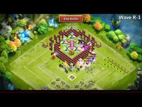 Castle Clash - Twitch & YouTube Test