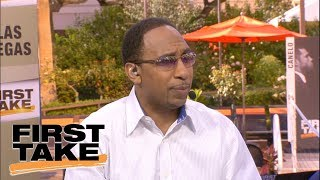 Stephen A. Smith says Shaq-Kobe not as good as Magic-Kareem | First Take | ESPN