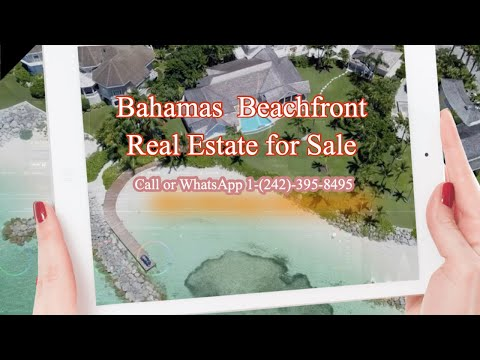 Beachfront Homes for sale in Bahamas
