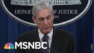 Robert Mueller Contradicted Attorney General William Barr   All In   MSNBC