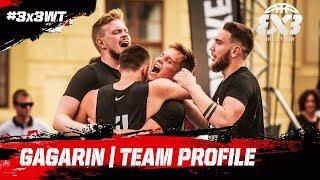 Gagarin - Russia | Team Profile | FIBA 3x3 World Tour 2018 - Prague Masters 2018