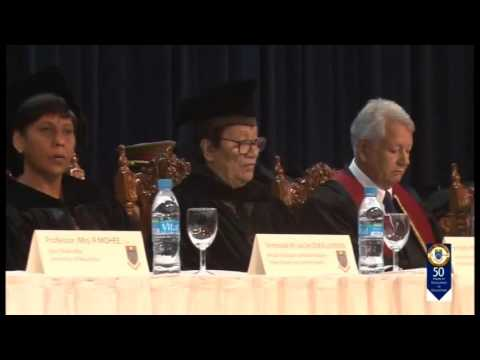 Installation of Chancellor and Graduation   2015 SD, 480p