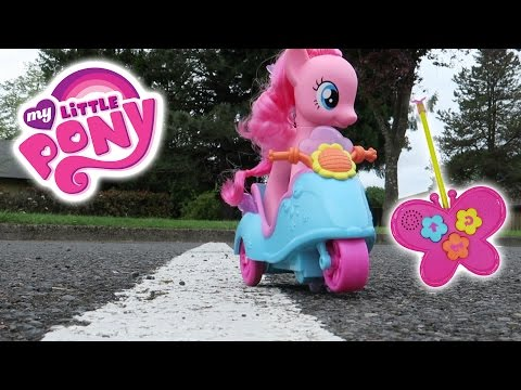 Kid Review: MLP Pinkie Pie RC Scooter