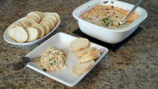 Super Bowl Warm & Creamy Bacon Dip