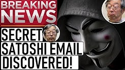 SECRET SATOSHI EMAIL DISCOVERED! SATOSHI MOVED HIS BITCOIN? 50x ALTCOIN PICKS! TRAPPED IN CRYPTO!