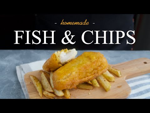 Easy Homemade Fish And Chips