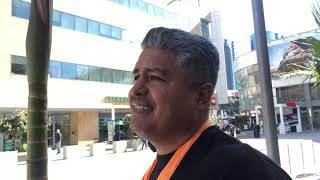 Robert garcia Seconds After Mikey Spence conference