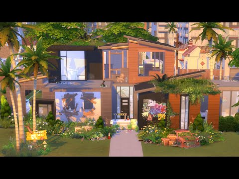 Fixing a Ruined House in The Sims 4 (Streamed 7/12/21)