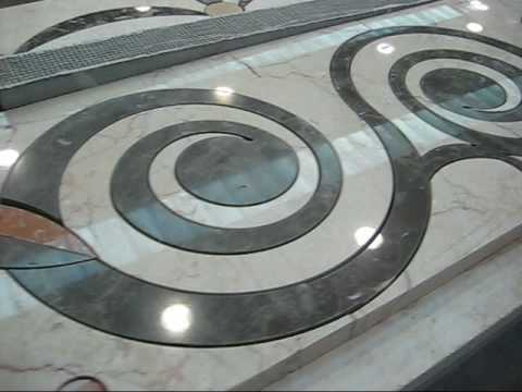 Cutting Marble Carpets Using A Water Jet Machine By