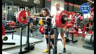 Marianna Gasparyan - 580 kg Total WR - 1st 60 Place kg/Overall - Tribute Meet
