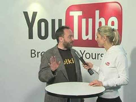 YouTube Reporter am DLD 2008 - Jimmy Wales
