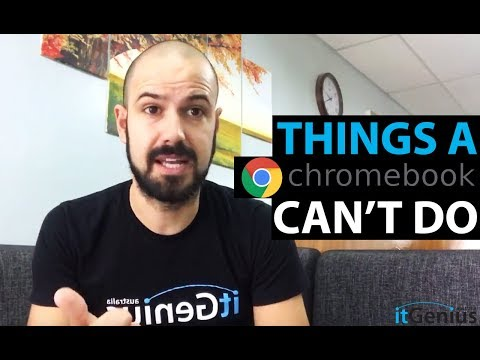 Q&A: Things A Chromebook Can't Do
