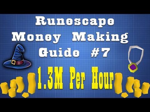 MAGIC MONEY MAKING METHOD 1300K Per Hour!! [07 Runescape] Episode 7