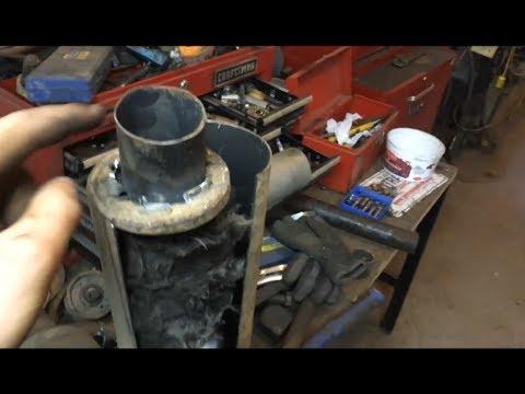how to build a homemade atv muffler exhaust for free