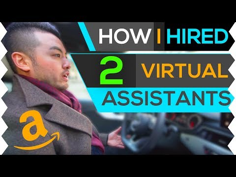 How to hire virtual assistance for your Amazon FBA business.