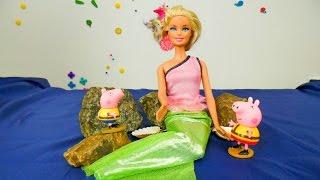 Спасение дельфина. Видео с Барби для девочек