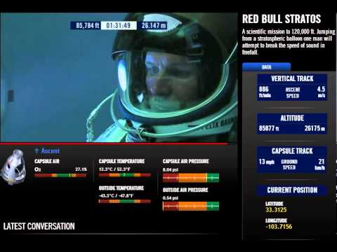 Felix Baumgartner Red Bull Stratos [Full Video]