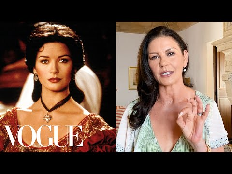 Catherine Zeta-Jones Breaks Down 14 Looks From 1987 to Now | Life in Looks | Vogue