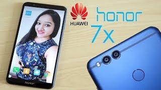 Huawei Honor 7X  Unboxing & Overview- In Hindi