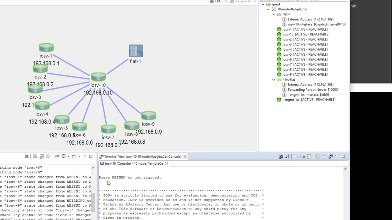nuVML Video Tutorial 4 - Network Discovery, Network Visualization