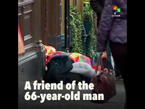 Homeless man dies after sleeping bag confiscated