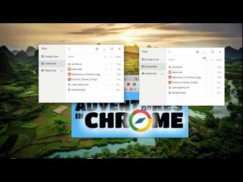 Files App in Chrome OS - Adventures in Chrome