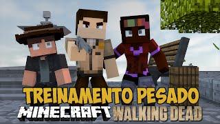 Minecraft The Walking Craft  - Treinamento em SERVERS OFICIAIS