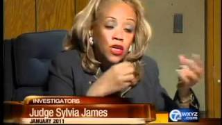 Judge Sylvia James put on leave