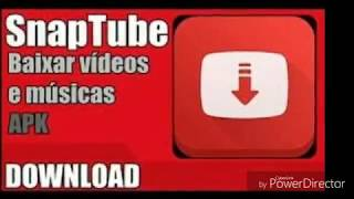 Como baixa o snaptube para baixar músicas e videos do YouTube e facebook/curta o video