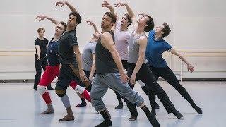 The Royal Ballet rehearse Sidi Larbi Cherkaoui's Medusa