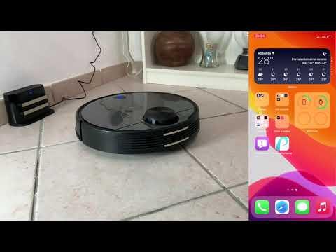 Robotino Lavapavimenti con APP /& Alexa Contenitore 2-in-1 per Pulizia Domestica//Peli Animali//Capelli//Polvere//Lavapavimenti Proscenic M6 PRO Robot Aspirapolvere con Tecnologia Navigazione Laser LDS