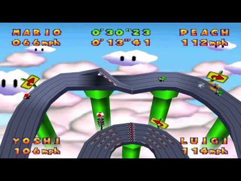 Mario Party 2 – Slot Car Derby Course 2