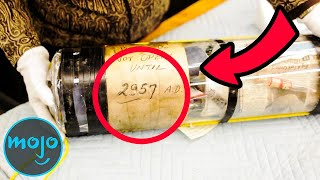 Top 10 Craziest Things Found in Time Capsules