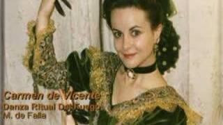 Carmen de Vicente on Castanets: Danza Ritual del Fuego