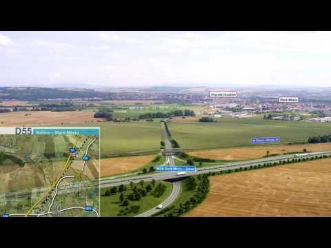 ŘSD ČR - Dálnice D55, stavba 5507 Babice – Staré Město