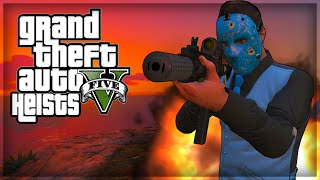 Gta V Heists - Taco Bell, Dirty Masks, Bank Robbery! (gta 5 Online Funny Moments)