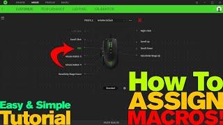 How To Put A Macro On Ther Razer Naga Chroma