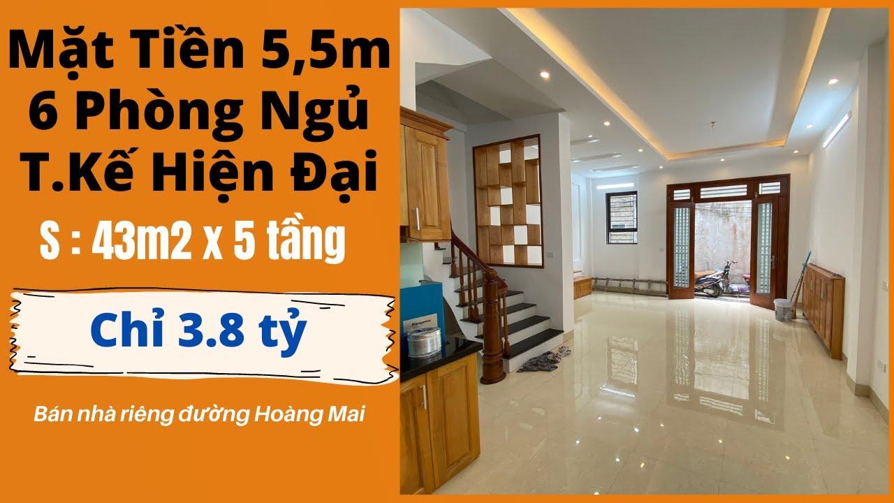image Bán Nhà Hà Nội Mặt Tiền 5,5m 6 Phòng Ngủ Đường Hoàng Mai Quận Hoàng Mai - Bán Nhà Hà Nội 2021