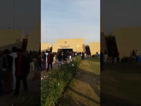 OMG!!! Strike of students in university of gujrat hafiz hayat campus