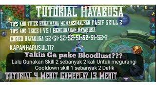 Tutorial Hayabusa #1 Tips and Trick mengunakan pasif skill 2!