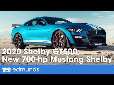 2020 Ford Mustang Shelby GT500 First Look and Details | Edmunds