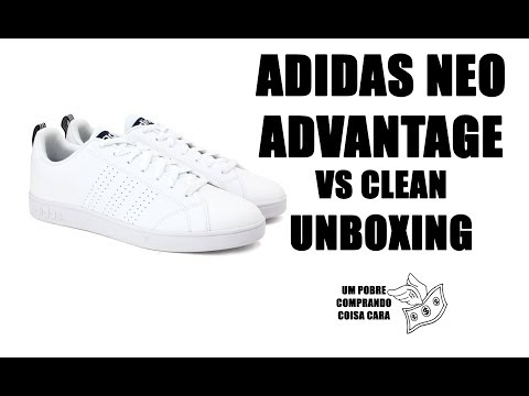 Adidas Neo Advantage VS Clean [ UNBOXING ] Bonito e combina com tudo. Será que é confortável?