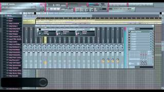 Dubstep Remix Tutorial 3/5 - FL studio;  Tape Stop & More Of The Song Added