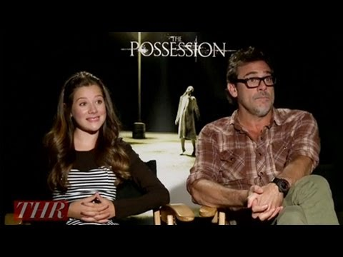 Jeffrey Dean Morgan and Natasha Calis on 'The Possession'