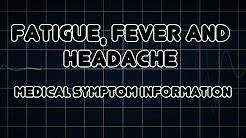 hqdefault - Back Pain Headache Fatigue Fever
