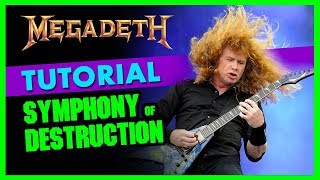 Tutorial - Come suonare SYMPHONY of DESTRUCTION - Megadeth - Lezioni di Chitarra Metal con TAB