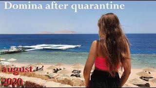 Домина после карантина Шарм Эль Шейх Египет Красное море август 2020
