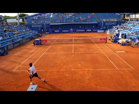 Cuevas vs. Elias Umag Open | Back view | Highlights | HD